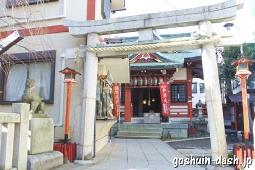 吉原神社(東京都台東区)鳥居