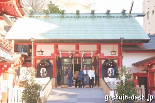 鷲神社(東京都台東区)拝殿