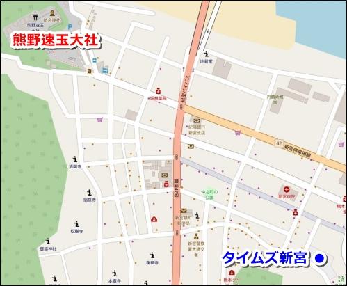 タイムズ新宮(熊野速玉大社近くのコインパーキング)