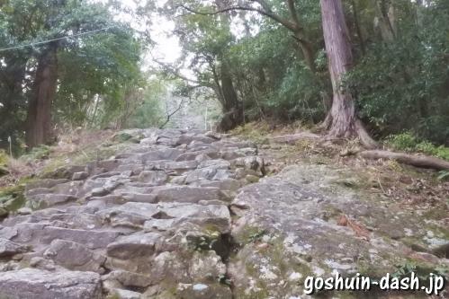 神倉神社石段(源頼朝造営)