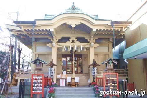 矢先稲荷神社(東京都台東区)拝殿